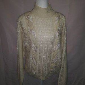 Jay Jacobs cable knit sweater